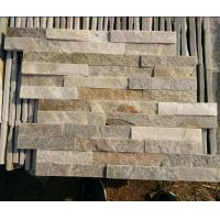 Buy cheap Natural Stacked Slate Cultured Stone for Wall Cladding Veneer Export By Factory Directly As Good Quality And Low Price from wholesalers