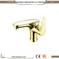 Buy cheap Unique design gold finish antique basin tap, retro toilet faucet with single handle from wholesalers