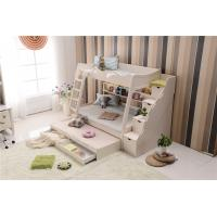 Buy cheap Morden style Children bunkbed with stairs for kids from wholesalers