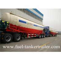 Buy cheap 60 Ton 3 Axle Cement Bulker Trailer , Diesel Engine Or Electrical Motor from wholesalers