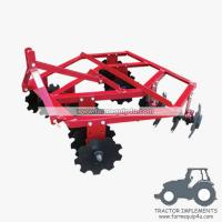 Buy cheap 4DH - Farm Cultivator Tractor Mounted 3-Point Disc Harrow 12nos from wholesalers