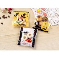 Buy cheap Transparent Plastic Candy Bags For Halloween Festival Decorating Cookie Biscuit from Wholesalers