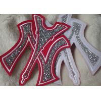 Buy cheap Iron On Backing Stone Custom Embroidered Patches With Handmade from wholesalers