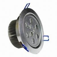 Buy cheap LED Ceiling Light with 24W Power, 110/220V AC Voltage and 50,000-hour Lifespan product