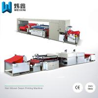 Buy cheap One Color Silk Screen Label Printing Machine For Non Woven Bag Paper Bag from wholesalers