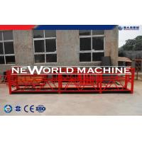 Buy cheap Red ZLP Type Temporary Suspended Platform For High Rise Building from wholesalers