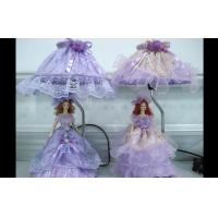 Buy cheap Beautiful Porcelain Doll Victorian Table Lamps With Satin Ribbon from wholesalers