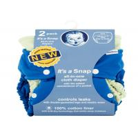 Buy cheap Soft All In One Reusable Nappy , 2 Count Reusable Cloth Diapers For Babies from wholesalers