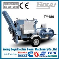 Buy cheap 180kn Overhead  Hydraulic Pulling Machine With Groove number 10 4.Engine Cummins from wholesalers