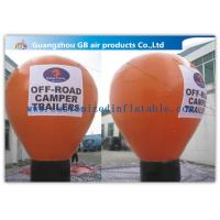 Buy cheap 6m Inflatable Large Helium Balloons For Advertising On Floor CE / UL Certificate product