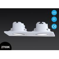 Good quality recessed lighting : Good quality double heads w square adjustable cob led