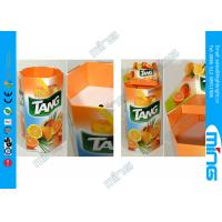 Buy cheap Promotion Candy Cardboard Retail Display Stands for Supermarket from wholesalers