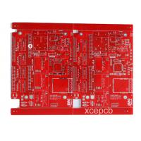 Buy cheap 6 Layer Multilayer PCB Red Solder Mask White Silk Screen For Ultrasonic Wave from wholesalers