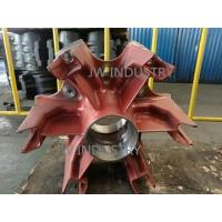 Buy cheap Spider wheel Hubs BPW style trailer 24T/28T/32T ductile iron casting sand mould casting from wholesalers