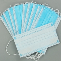 Buy cheap EN149 Anti Fog Mouth 3 Layer Civil Disposable Nose Mask product