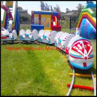 Buy cheap OUTDOOR kiddie electric trains, rocket electric train playground from wholesalers