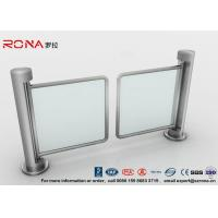 Buy cheap 304 Stainless Steel Swing Barrier Gate Unidirectional 500mm Passage Width product