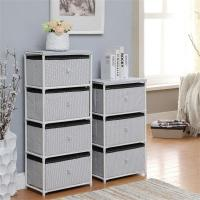 Buy cheap Daily Necessities Bedroom Storage Units , CE Storage Shelving Units With Fabric Drawer from wholesalers