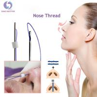 Buy cheap Nose Lift Cosmetic Blunt Cannula 3D Cog Pdo Thread Dermal Filler Cannula from wholesalers