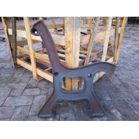 Buy cheap Antique Powder Coated Cast Iron Bench Ends And Steel Garden Bench Seat from wholesalers
