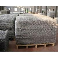 Buy cheap 60 x 80mm Wire Mattress with 2.2mm Diameter Mesh Size,Gabion basket,gabion mesh basket product