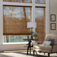 Buy cheap SGS Sun Protection Manual Roller Blind Reed Shades from wholesalers