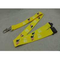 Buy cheap Heat Transfer Polyester Lanyards With D Hook Double Sides Printing from wholesalers