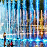 Buy cheap DMX control RGB Modern style musical dancing water fountain price from wholesalers