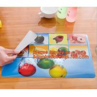 Buy cheap Wholesale price dining mat PVC Fabric silicone placemat table mat,tableware accessories round plastic placemat PVC water from wholesalers