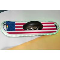 Buy cheap 10 inch Cool American Flag Style Single Wheel Electric Skateboard Scooter with Bluetooth Speaker and RGB LED lights from wholesalers