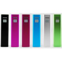 Buy cheap 5200mAh Lipstick Portable USB Power Bank With Lithium Battery from wholesalers