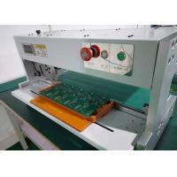Buy cheap 500-800μM PCB Depaneling Equipment Low Force Stress Moving Circular Blade AC 110/220V from wholesalers