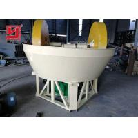Buy cheap Gold Plant Ore Dressing Equipment Wet Pan Mill Grinder Machine Easy Installation from wholesalers