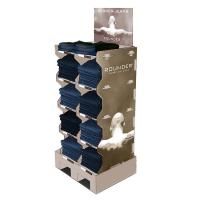 Buy cheap Durable Apparel Cardboard Product Display Stands Glossy / Matt Lamination from wholesalers