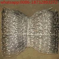 Buy cheap wire cable netting/ zoo netting/stainless steel rope fittings/ steel mesh netting/ wire rope eyelet/ ss cable railing from wholesalers