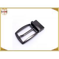 Simple Reversible Custom Metal Belt Buckles With Die-Casting Plating