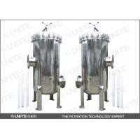 Buy cheap 0.2 - 50 microns stainless steel cartridge filter for small flow rate condition from wholesalers