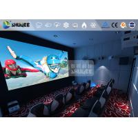 Buy cheap 360 Degree Screen Mini Cinema 6D Movie Theater Immersive Experience / Special Effects product