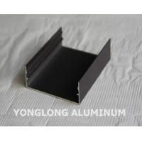Buy cheap Powder Coated Aluminium Profile For Curtain Wall Frame Champangn , Bronze from wholesalers