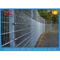 Various colors double loop ornamental wire fencing for