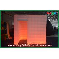 Buy cheap Orange Attractive Inflatable Photo Booth Portable Air Inflatable Tent For Festival from wholesalers