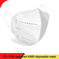 Buy cheap Protective Ffp3 Non Woven Face Mask Disposable Face Mask White Color CE FDA from wholesalers