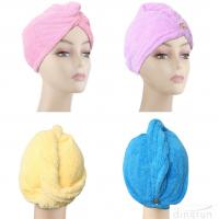 Buy cheap Microfiber Hair Drying Towels Fast Drying Long Hair Wrap Absorbent Twist Turban from wholesalers