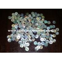 Buy cheap Flatback Pearl Sea Shell Buttons / 2 Holes Round Natural Shell Buttons from wholesalers
