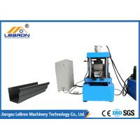 Buy cheap 0.3mm-0.8mm Thickness Continuous Gutter Machine For Half Round Galvanized Gutters from wholesalers