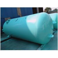 Buy cheap Blue Vertical Air Receiver Tank Pressure Vessel , Low Pressure Air Compressor Holding Tank product