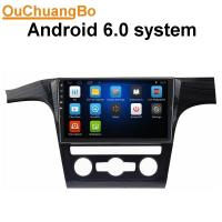 Buy cheap Ouchuangbo 10.1 inch auto radio android 6.0 for Volkswagen Passat  with BT 4*45 Watts amplifier 1080P Video from wholesalers