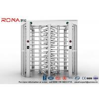 Buy cheap Robust Full Height Turnstile Access Control Barrier Gate Anti Fingerprints Surface product