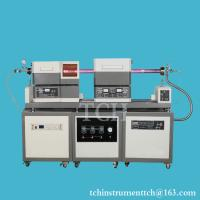 Buy cheap 1200C Max Sliding PECVD Tube Furnace system with Pre-Heater furnace from wholesalers