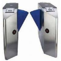 Quality TCP / IP Security & Electric Mechanism Single Wing Turnstile Gate with Rfid Card Reader for sale